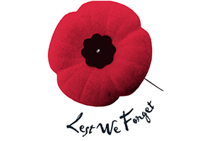 Lest we Forget – November 11th